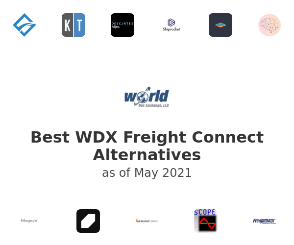 Best WDX Freight Connect Alternatives