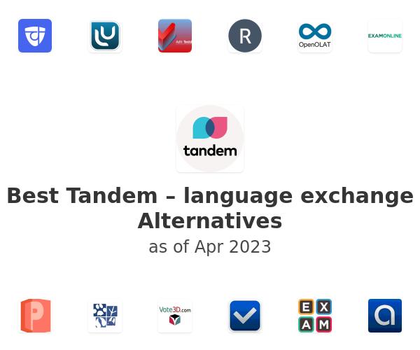 Best Tandem – language exchange Alternatives