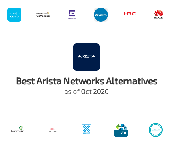 Best Arista Networks Alternatives