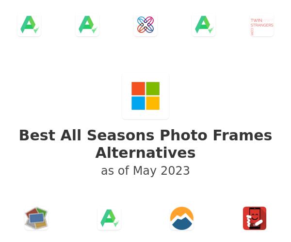 Best All Seasons Photo Frames Alternatives