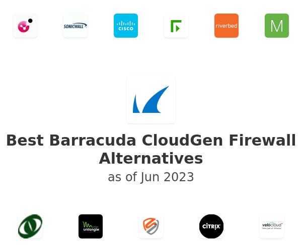 Best Barracuda CloudGen Firewall Alternatives
