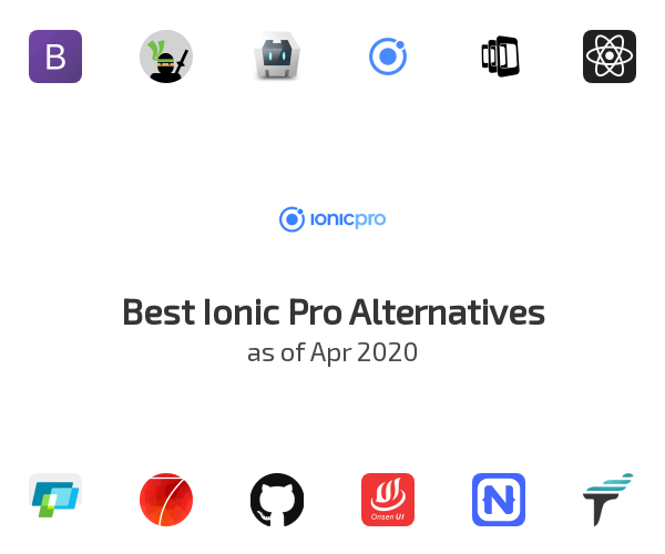 Best Ionic Pro Alternatives