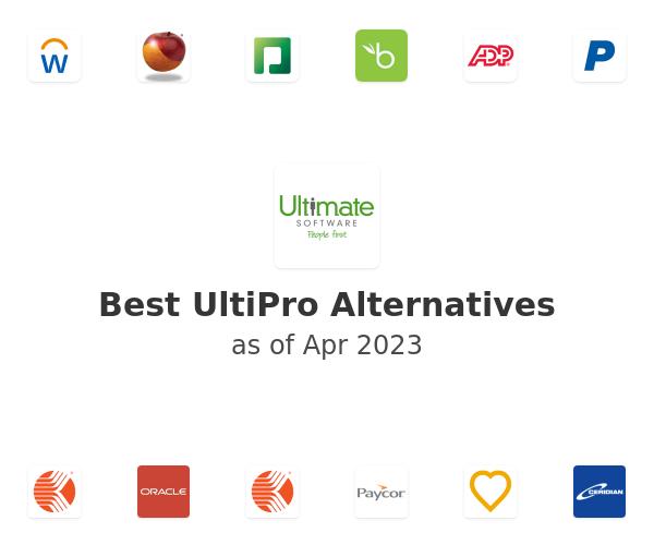 Best UltiPro Alternatives