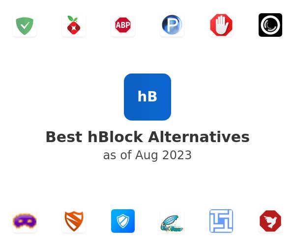 Best hBlock Alternatives