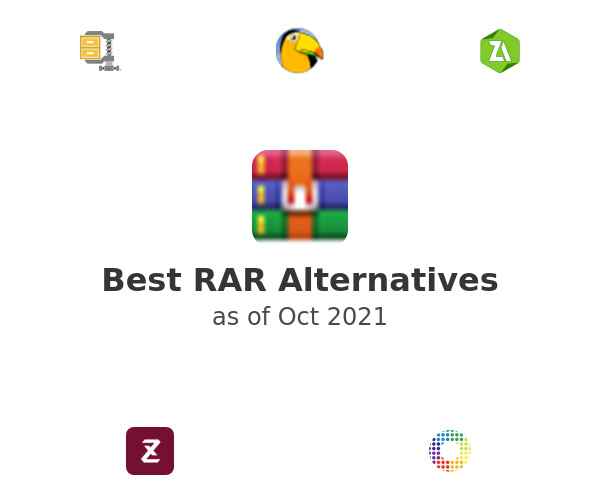 Best RAR Alternatives