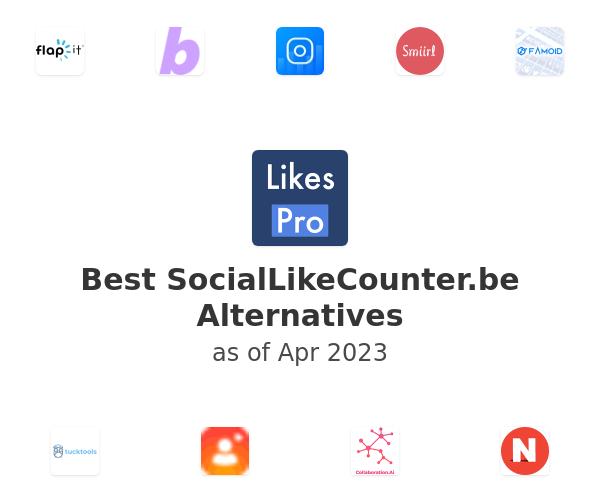 Best SocialLikeCounter.be Alternatives