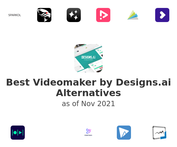 Best Videomaker by Designs.ai Alternatives