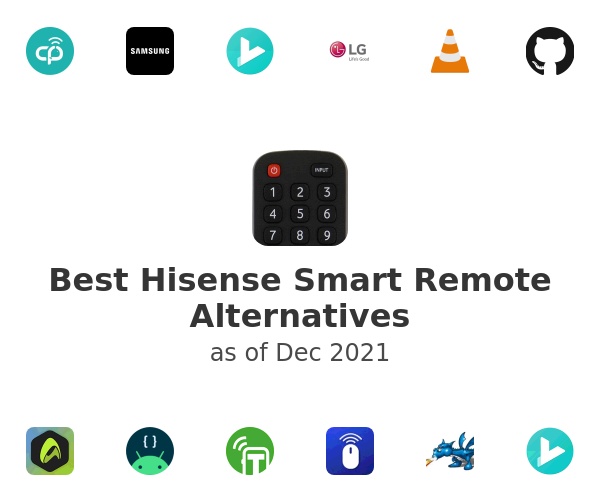 Best Hisense Smart Remote Alternatives