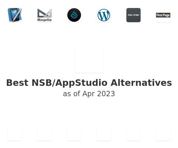 Best NSB/AppStudio Alternatives