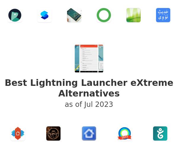 Best Lightning Launcher eXtreme Alternatives
