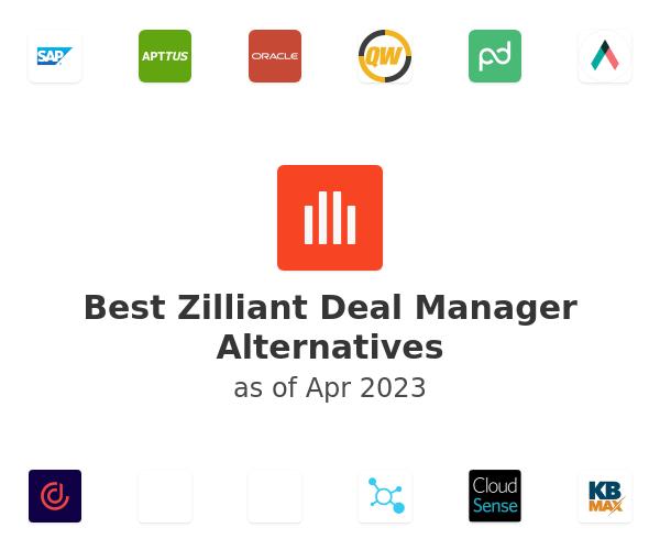 Best Zilliant Deal Manager Alternatives
