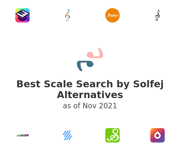 Best Scale Search by Solfej Alternatives