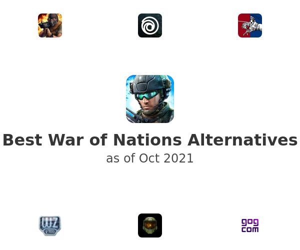Best War of Nations Alternatives