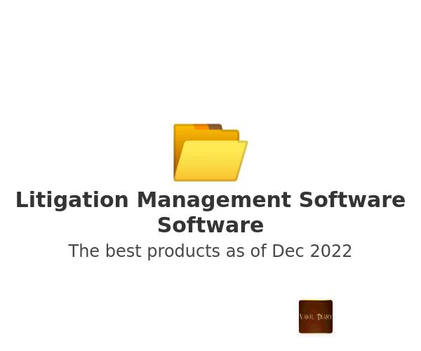 Litigation Management Software Software
