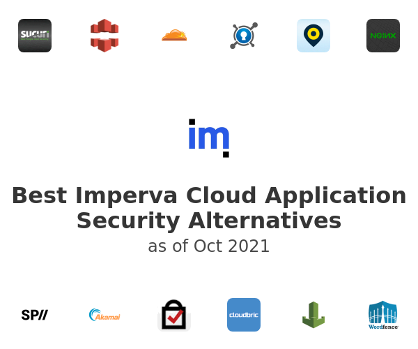 Best Imperva Cloud Application Security Alternatives