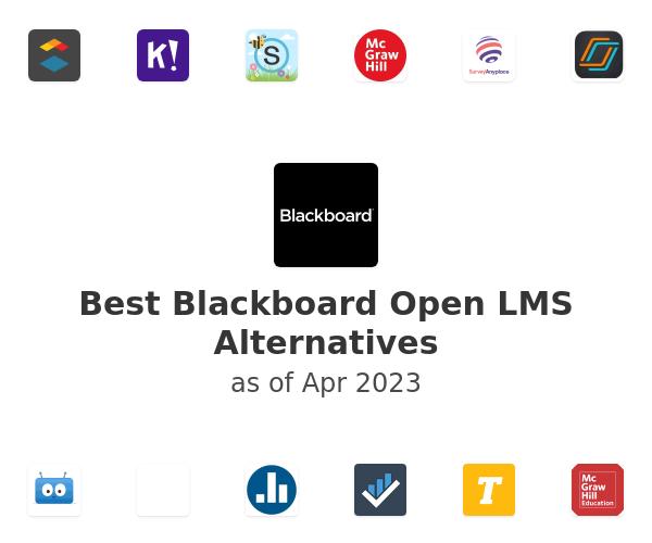 Best Blackboard Open LMS Alternatives