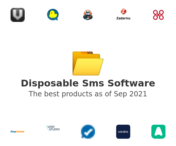 Disposable Sms Software