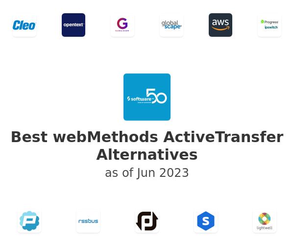Best webMethods ActiveTransfer Alternatives