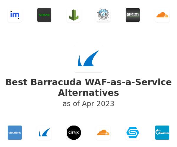 Best Barracuda WAF-as-a-Service Alternatives