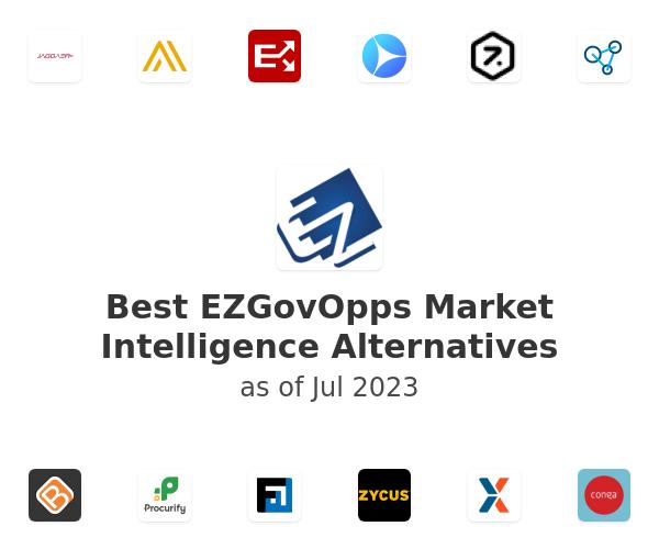 Best EZGovOpps Market Intelligence Alternatives