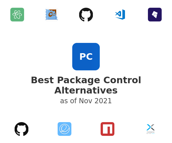 Best Package Control Alternatives