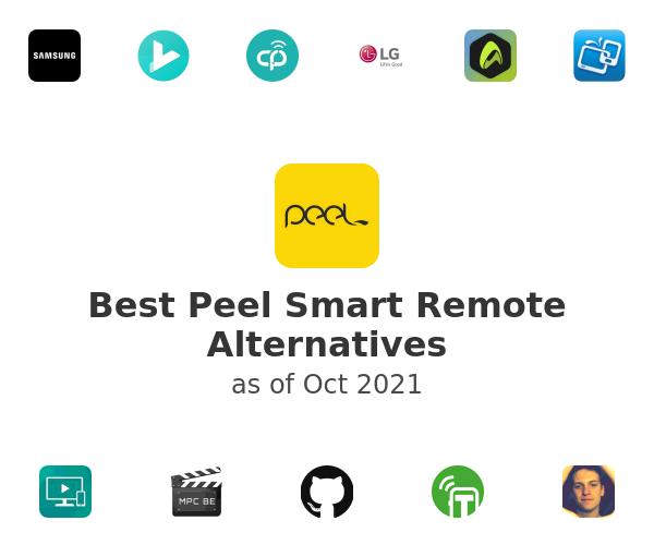 Best Peel Smart Remote Alternatives