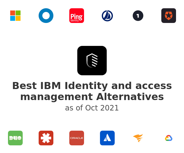 Best IBM Identity and access management Alternatives