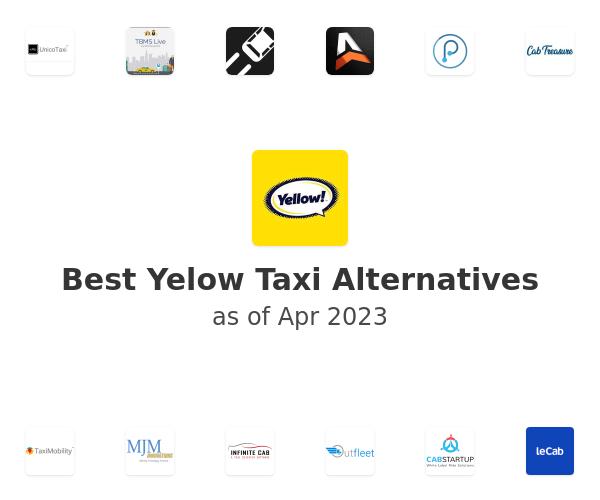 Best Yelow Taxi Alternatives