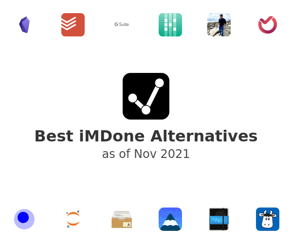 Best iMDone Alternatives