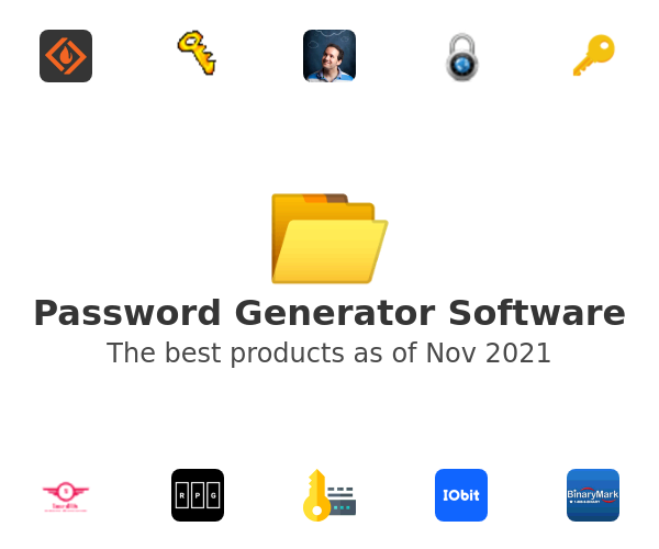 Password Generator Software