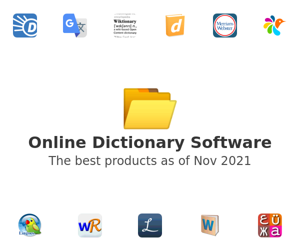 Online Dictionary Software