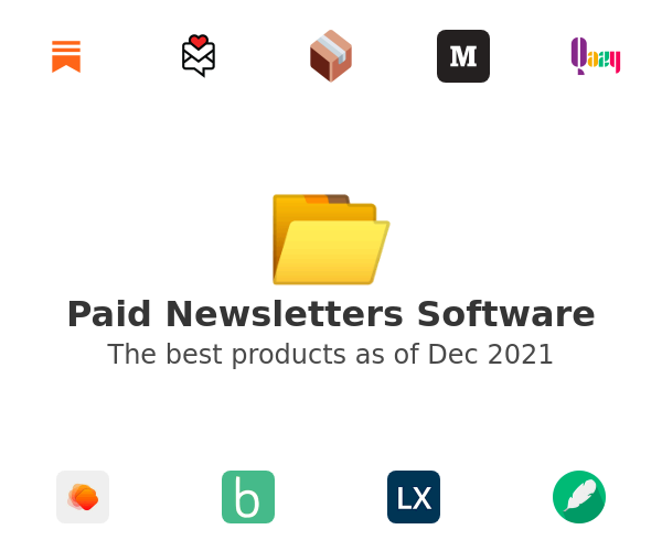 Paid Newsletters Software