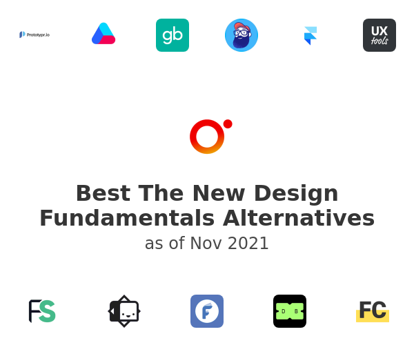 Best The New Design Fundamentals Alternatives