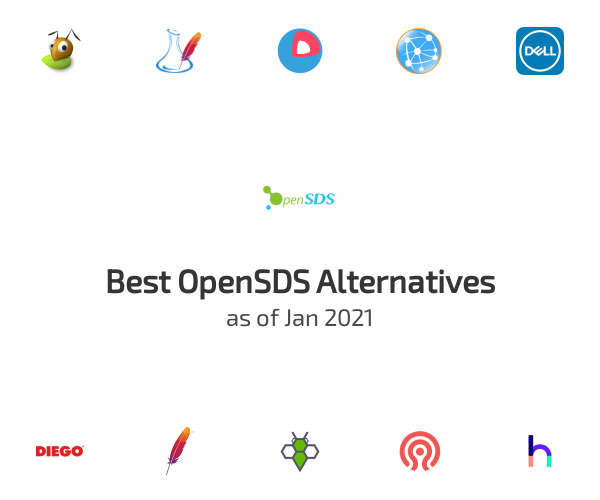 Best OpenSDS Alternatives