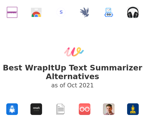 Best WrapItUp Text Summarizer Alternatives