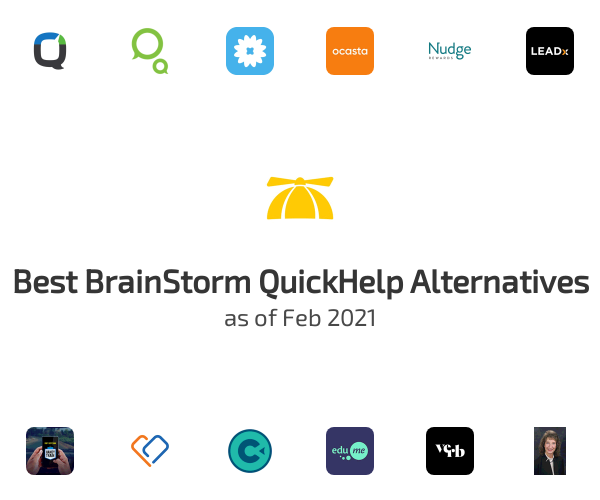 Best BrainStorm QuickHelp Alternatives