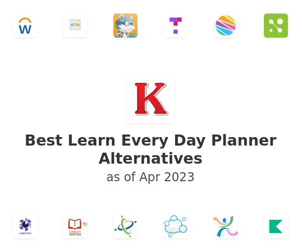 Best Learn Every Day Planner Alternatives