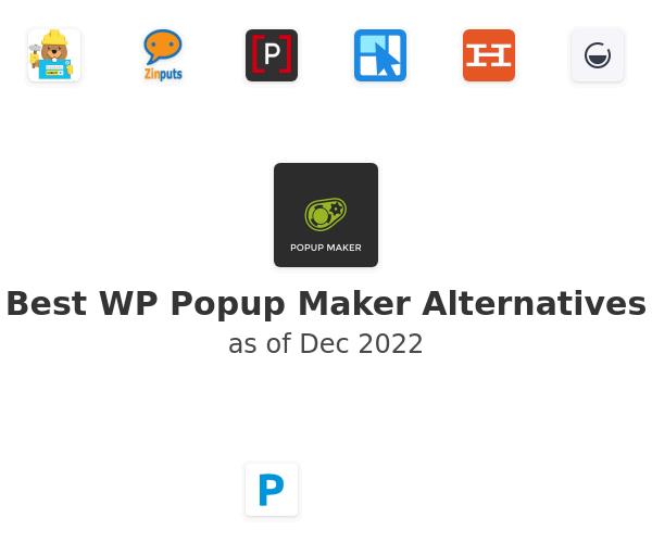 Best Popup Maker Alternatives