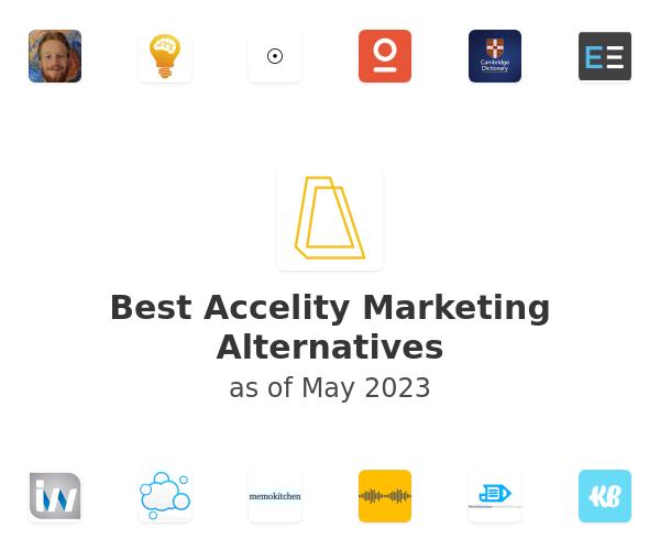 Best Accelity Marketing Alternatives