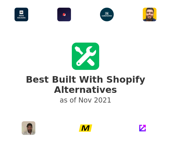 Best Built With Shopify Alternatives