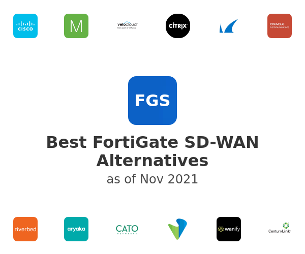 Best FortiGate SD-WAN Alternatives