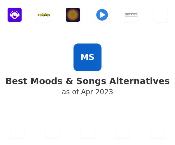 Best Moods & Songs Alternatives