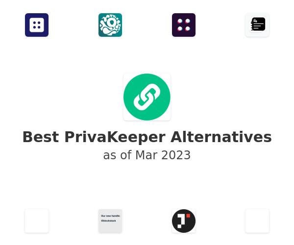 Best PrivaKeeper Alternatives