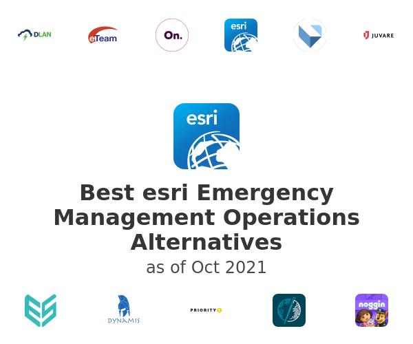 Best esri Emergency Management Operations Alternatives