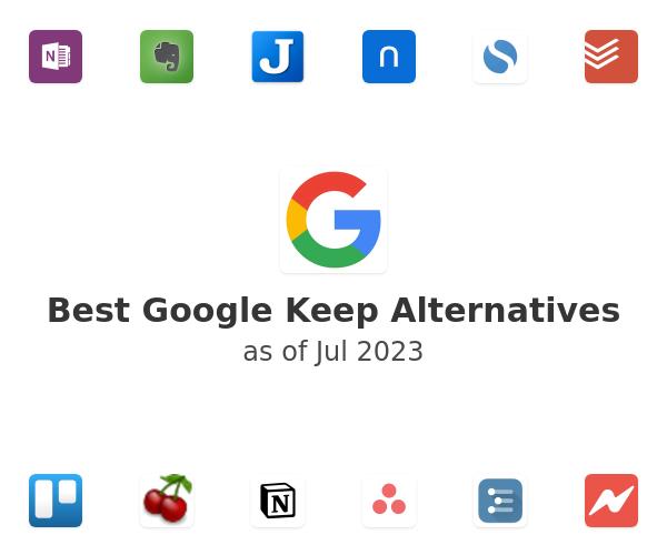 Best Google Keep Alternatives