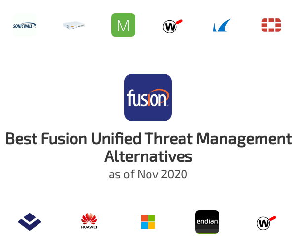 Best Fusion Unified Threat Management Alternatives