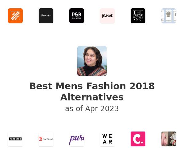 Best Mens Fashion 2018 Alternatives