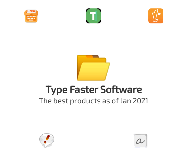 Type Faster Software