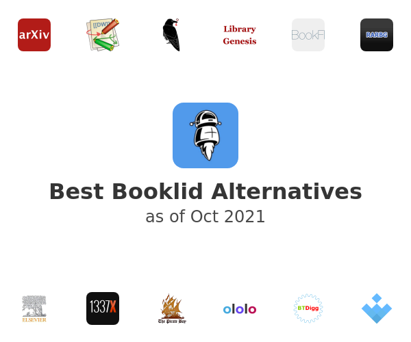 Best Booklid Alternatives