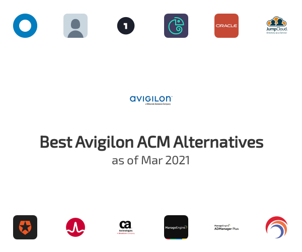 Best Avigilon ACM Alternatives